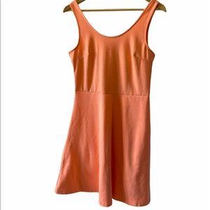 OLD NAVY Neon Coral Jersey Knit Stretch Tank Dress